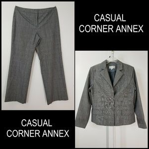 Casual Corner Annex Woman Blazer Suit & Pants 14